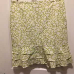 Pretty ruffle skirt